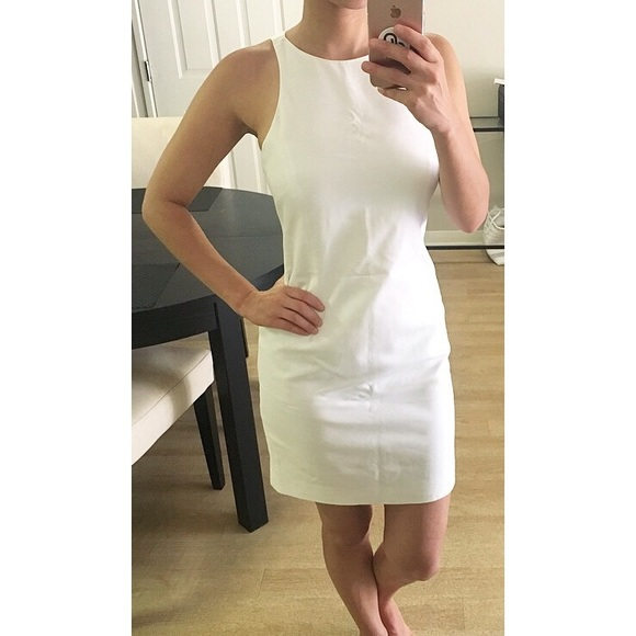 64b6a1508929ee ZARA White Sleeveless Shift Dress Small. M 5b524b6034e48a8ab3f8e4c3